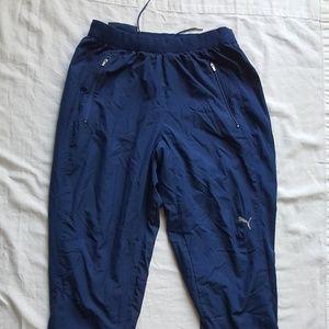 Near Mint Puma USP Medium Blue Sweatpants Joggers